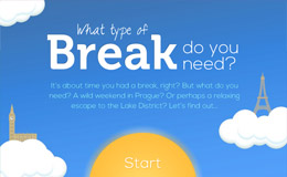 Superbreak holiday destination generator