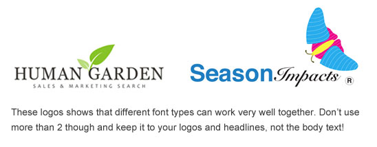 Font Pairs