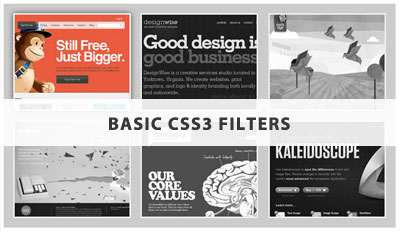 Basic CSS3 Filters