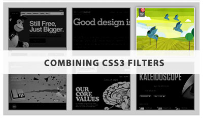 Combining CSS3 Filters